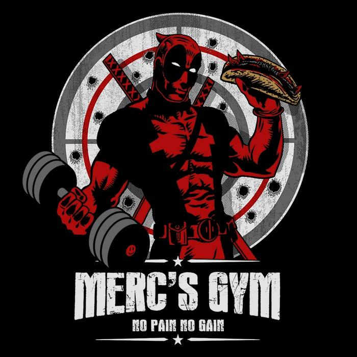 Once Upon a Tee: Merc's Gym