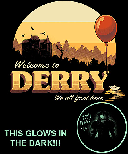 Qwertee: Welcome to Derry