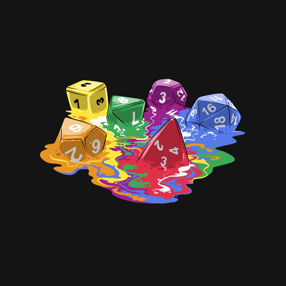 TeeFury: Melting Dice