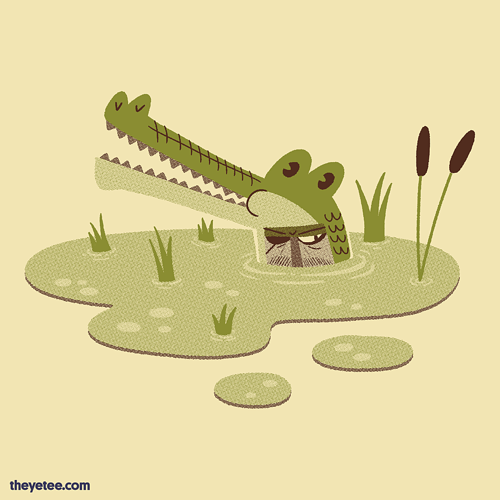 The Yetee: Some Days You Feed on a Tree Frog
