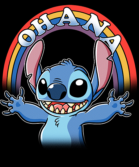 Qwertee: As Long As We Have Ohana