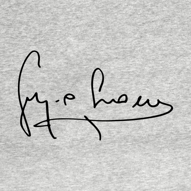 TeePublic: Sergio Leone's Signature