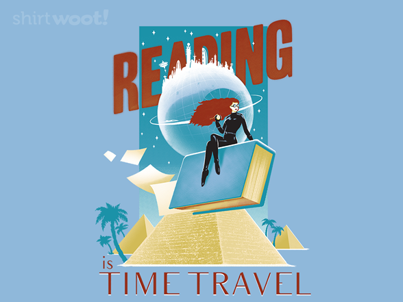 Woot!: Go Places With Books!