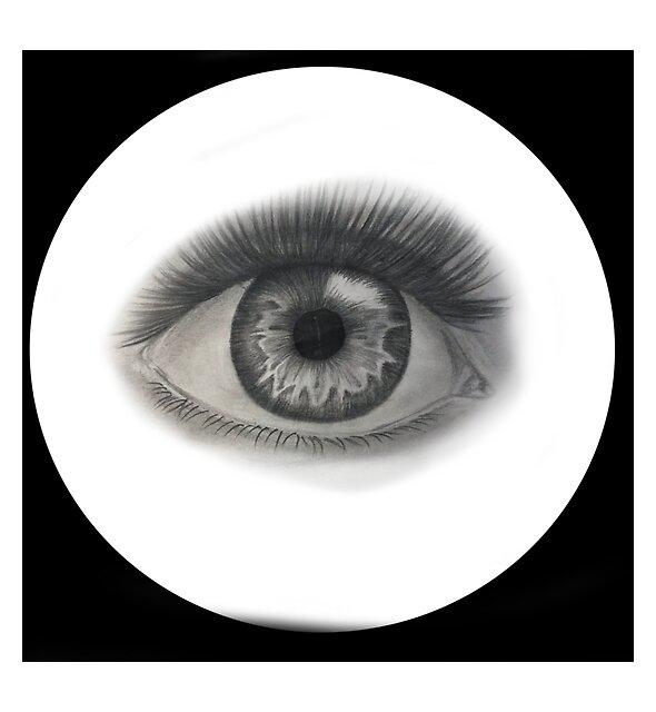 RedBubble: Black Circle Eye