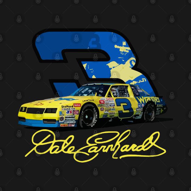 TeePublic: Earnhardt Yellow #3 Car