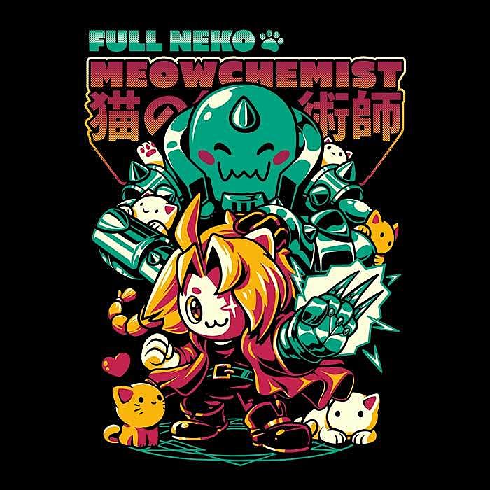 Once Upon a Tee: Full Neko Meowchemist
