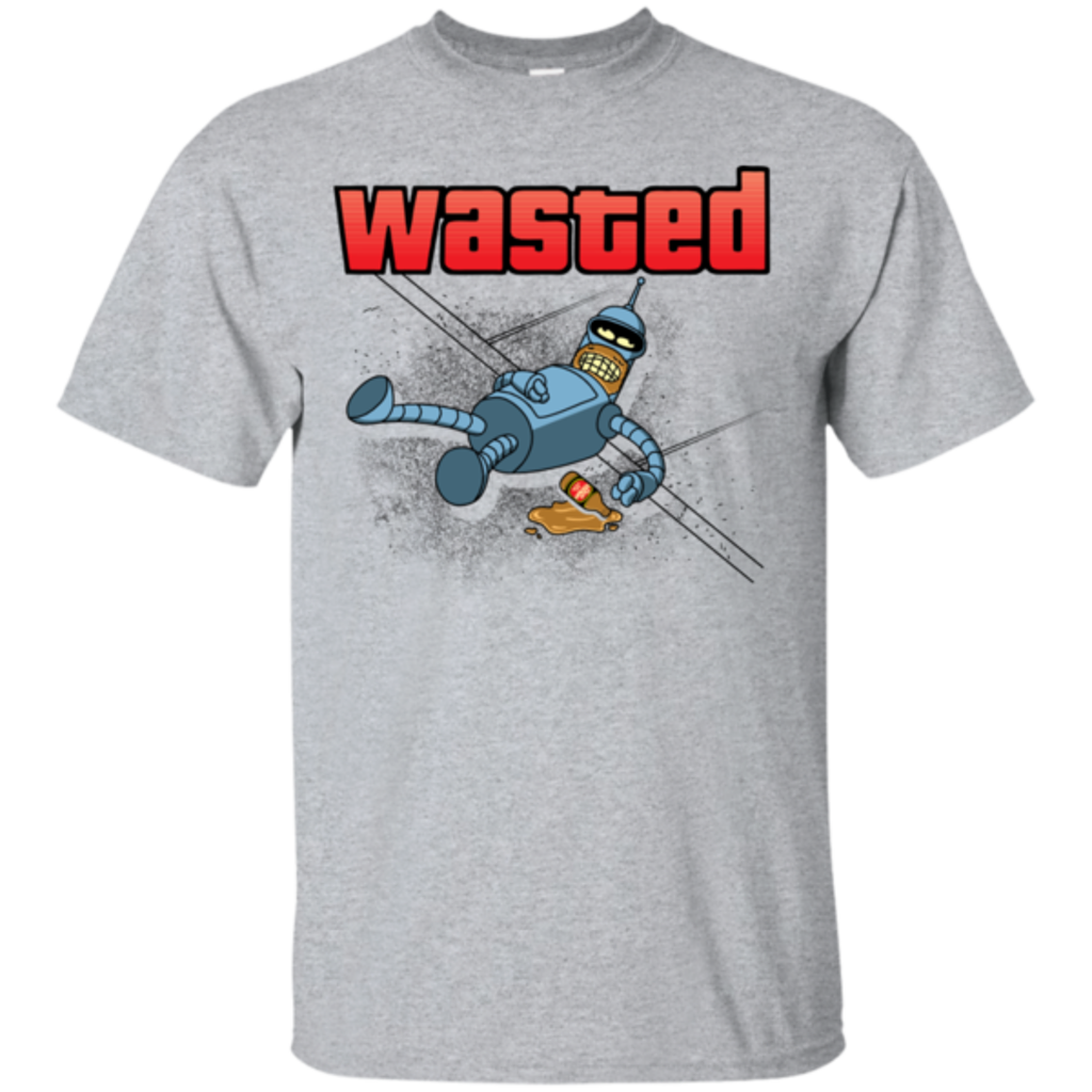 Pop-Up Tee: Wasted