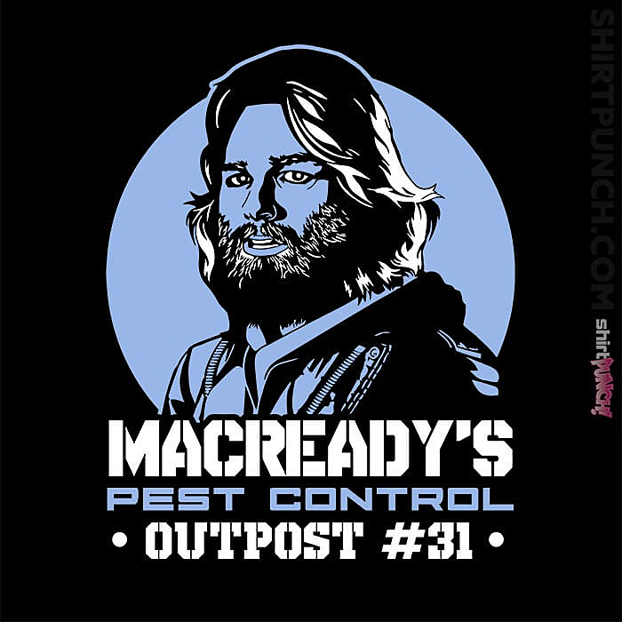 ShirtPunch: Macready's Pest Control