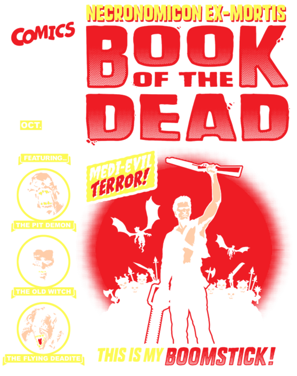 teeVillain: Book of the Dead