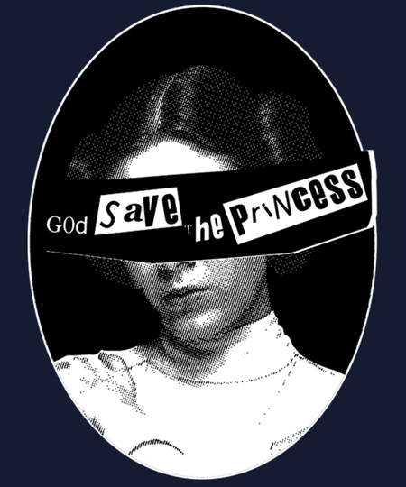 Qwertee: God Save the Princess