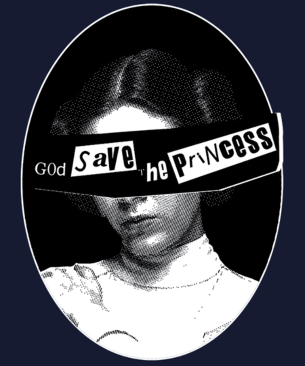 Qwertee: God Save the Princess