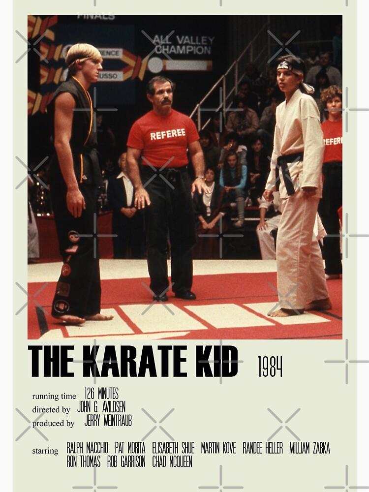 RedBubble: The Karate Kid (1984) Alternative Poster Art Movie Large (5)