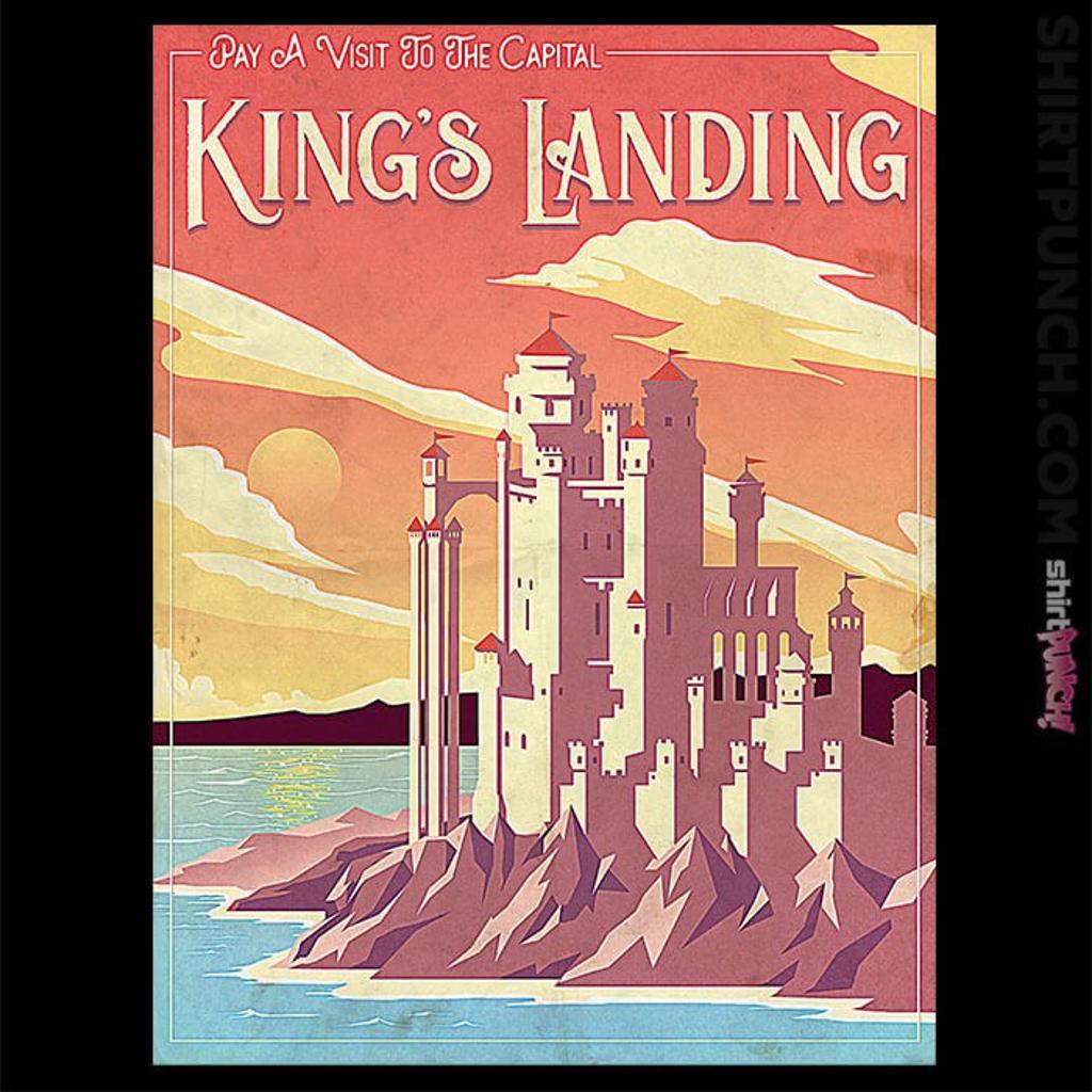 ShirtPunch: Visit King's Landing