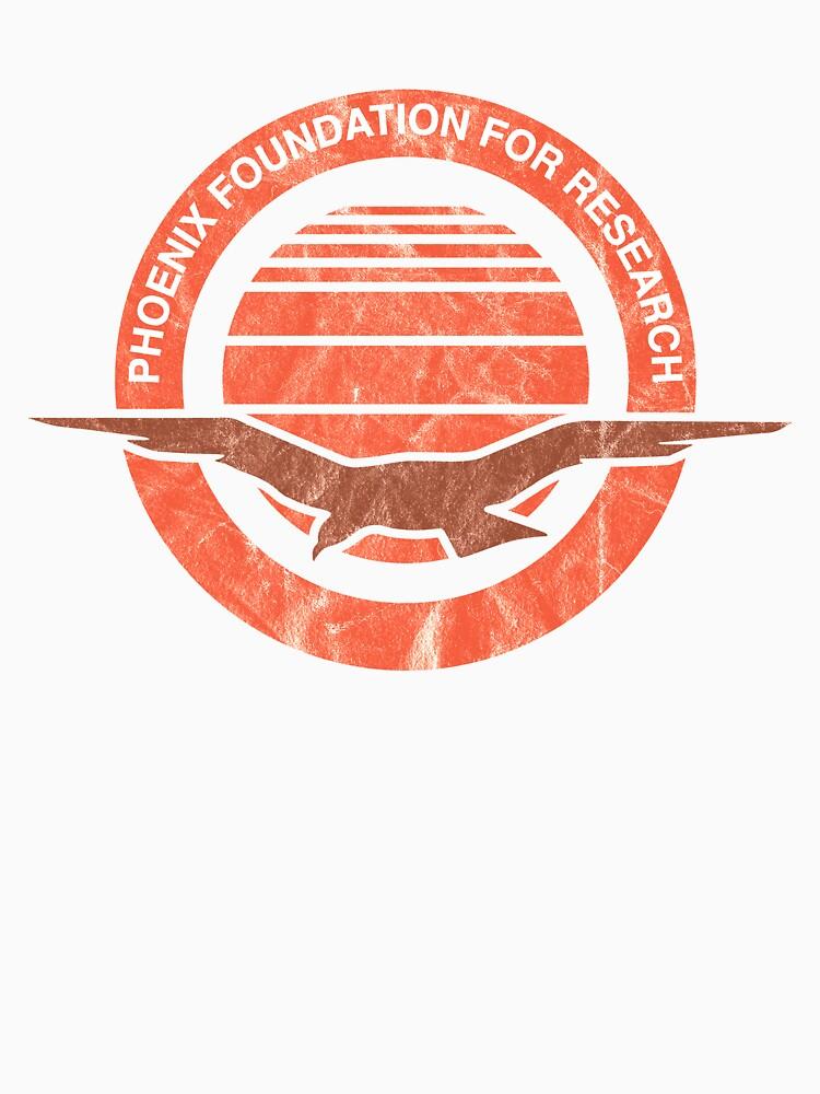 RedBubble: Phoenix Foundation Logo Distressed MacGyver