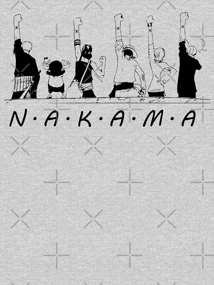 RedBubble: Nakama One Piece Salute