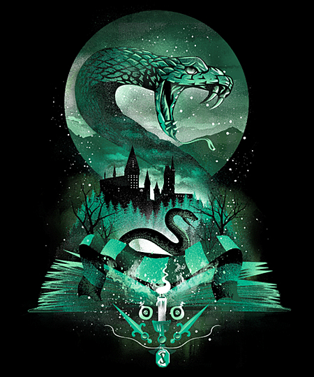 Qwertee: Book of Slytherin