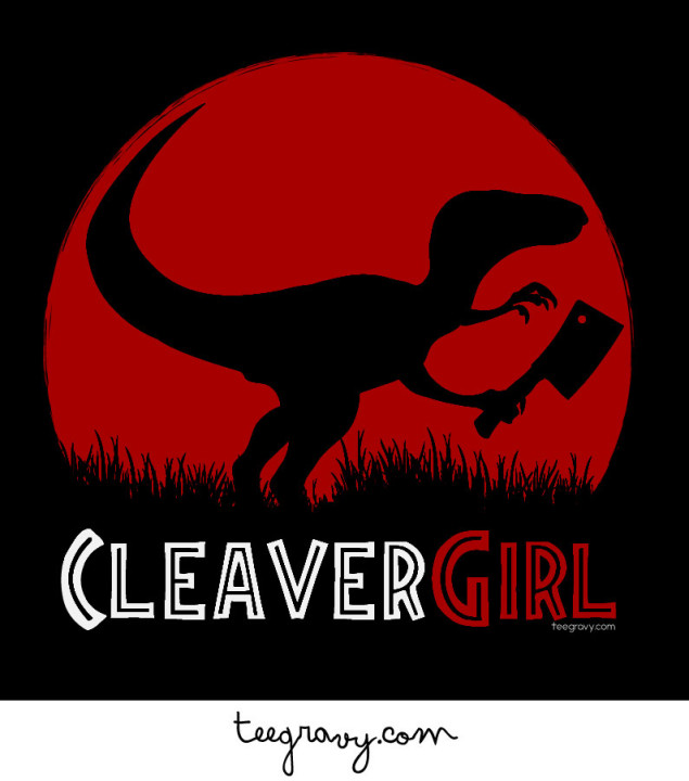 Tee Gravy: CLEAVER GIRL