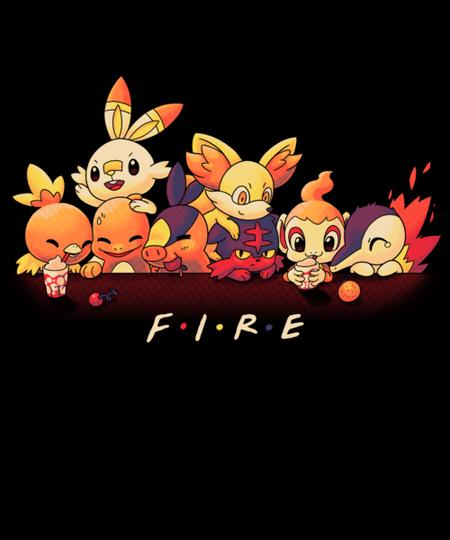 Qwertee: Fire