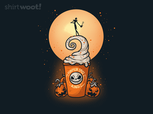 Woot!: Pumpkin Spice King - $8.00 + $5 standard shipping
