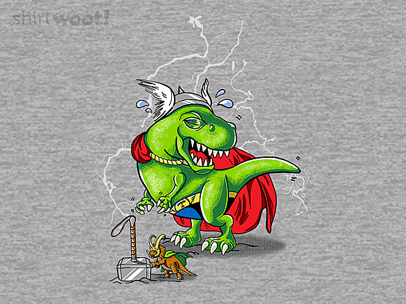 Woot!: The Mighty DinoThor!