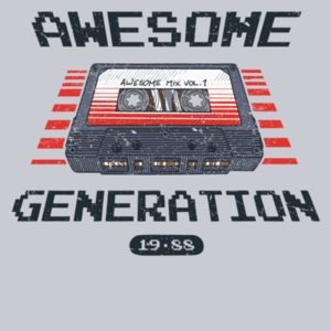 Pop-Up Tee: Awesome Generation