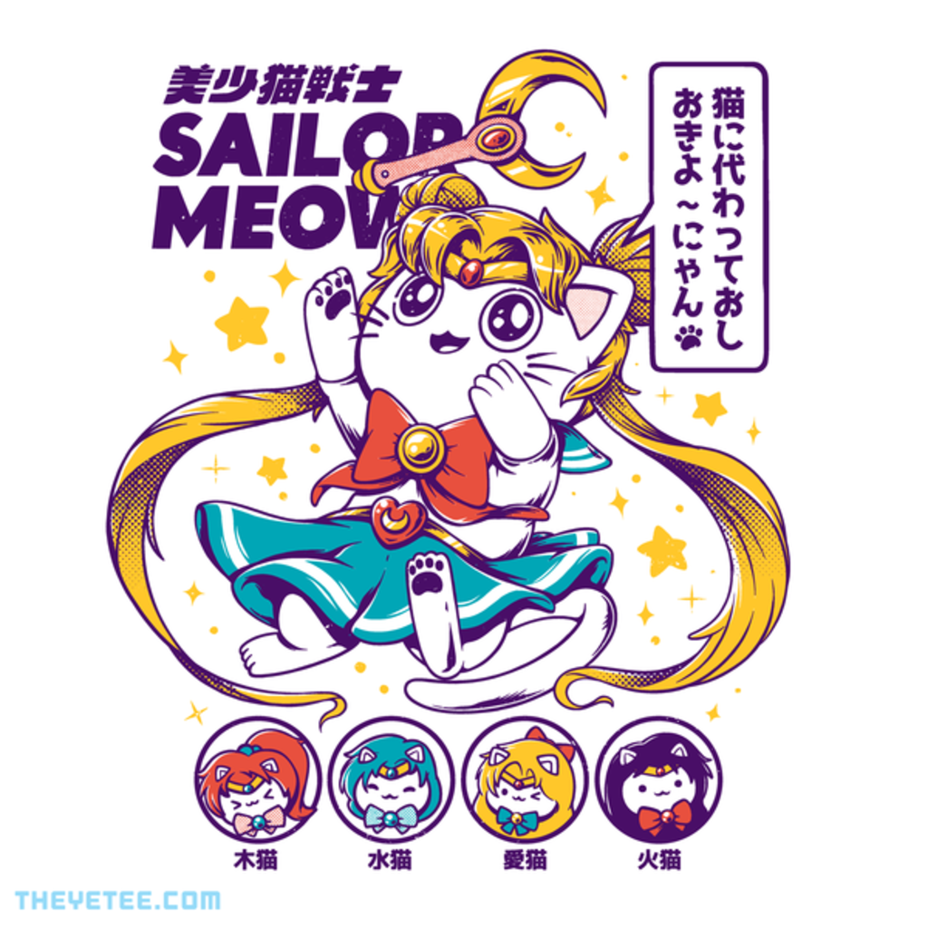 The Yetee: Sailor Meow