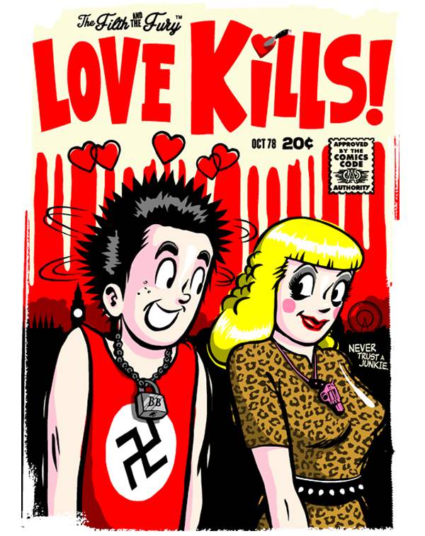 teeVillain: Love Kills