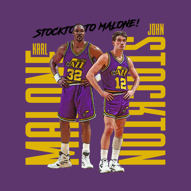 TeePublic: Stockton to Malone