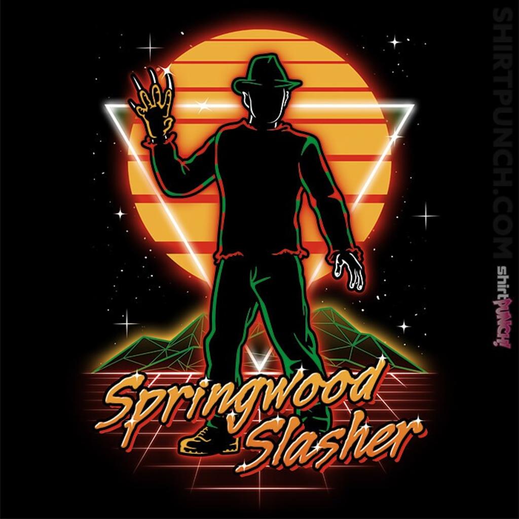 ShirtPunch: Retro Springwood Slasher