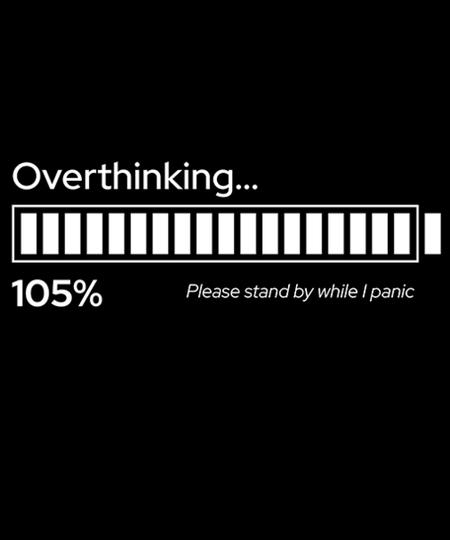 Qwertee: Overthinking