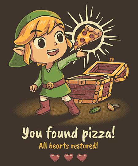 Qwertee: The Legendary Pizza