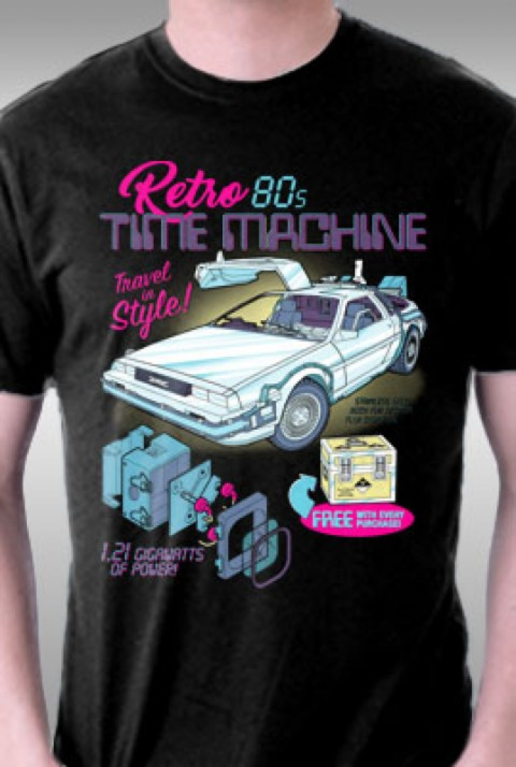 TeeFury: Retro 80's Time Machine