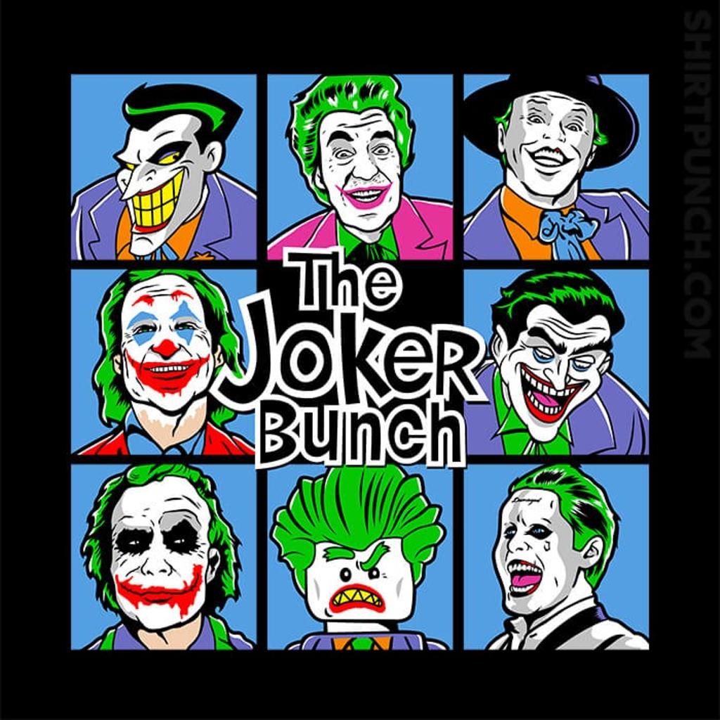ShirtPunch: The Joker Bunch