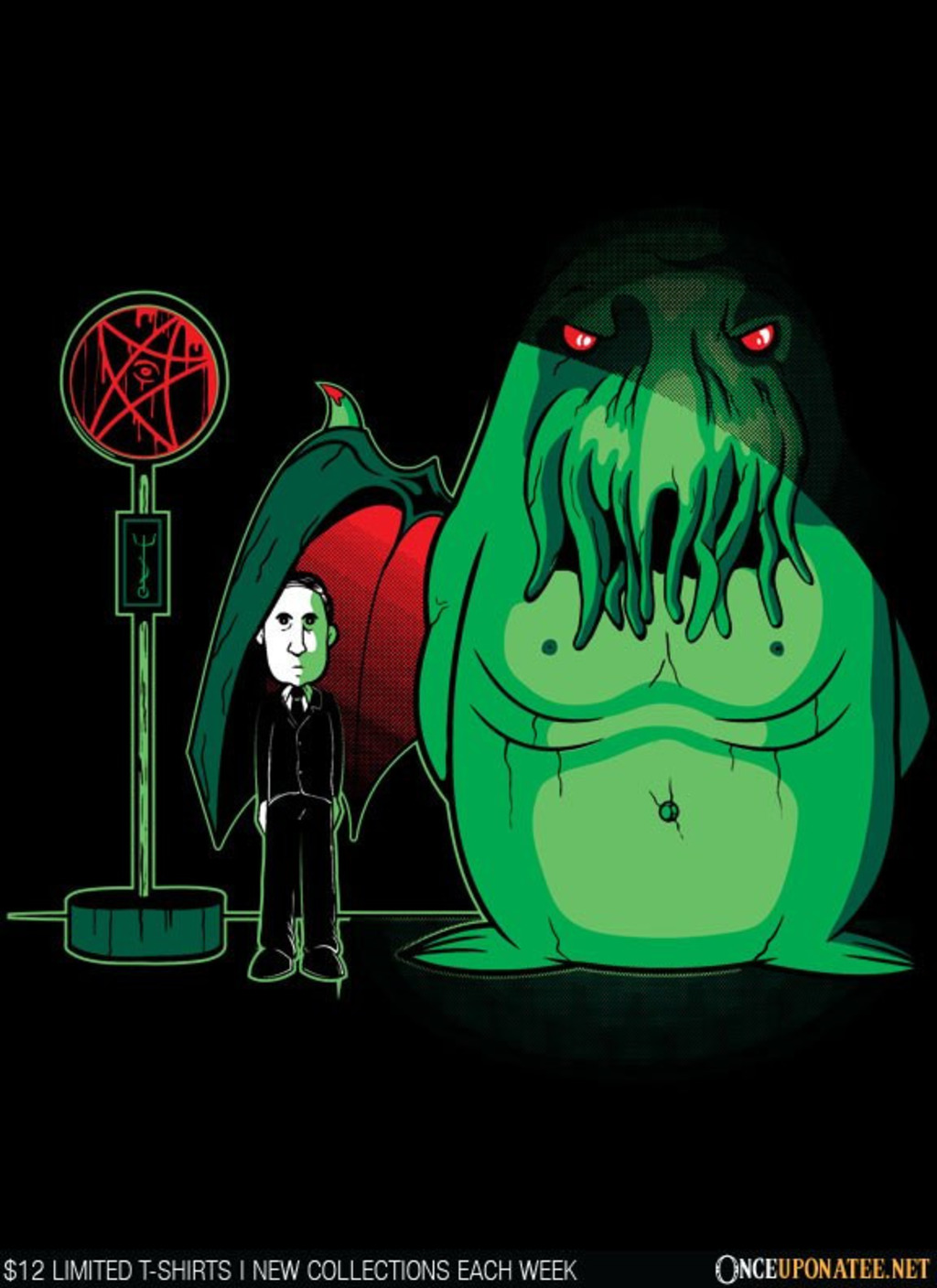 Once Upon a Tee: My Neighbor Cthulhu