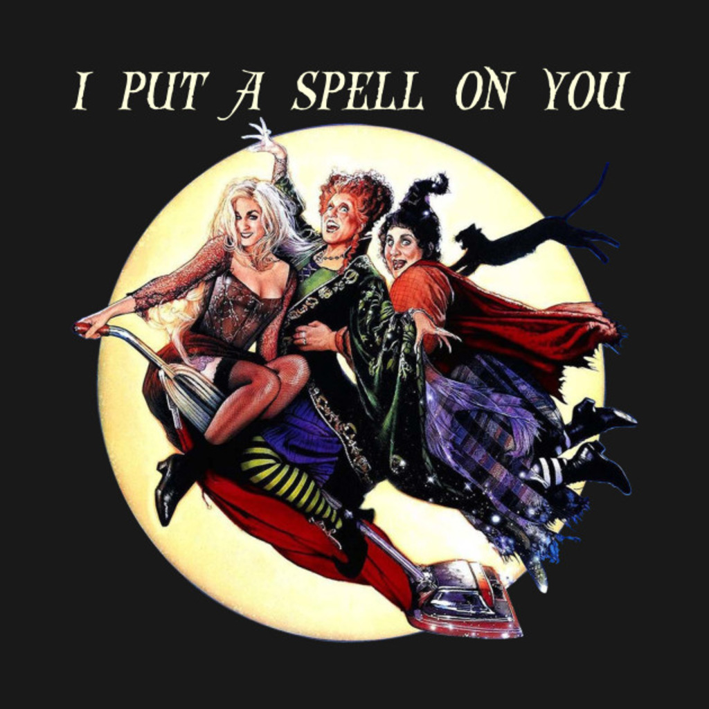 TeePublic: I Put A Spell On You - Treat or Trick - Halloween T-Shirt