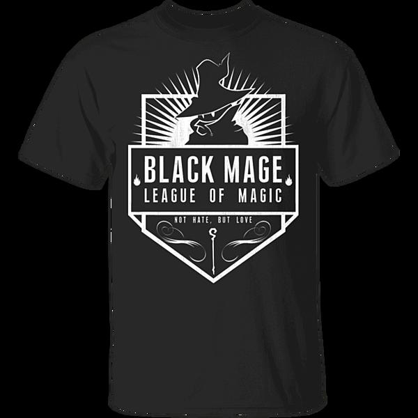 Pop-Up Tee: Black Mage League of Magic