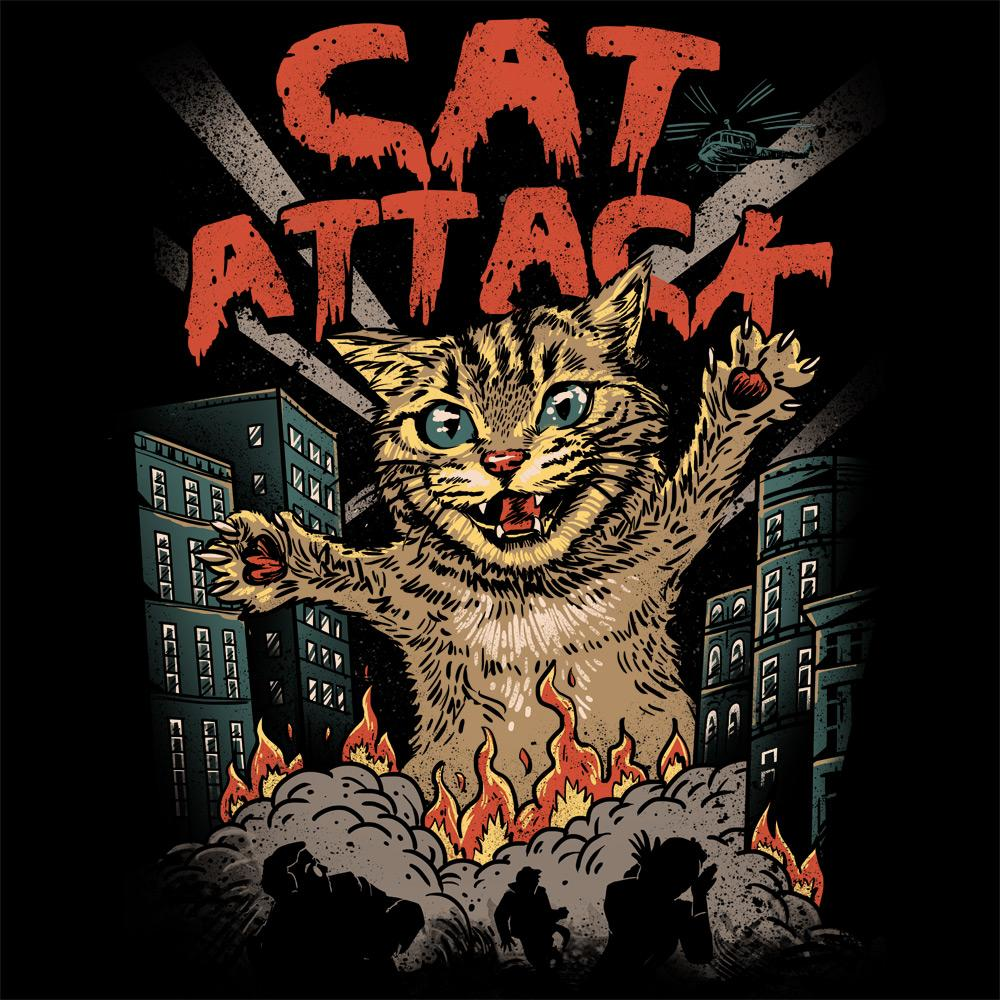 Feline Shirts: Cat Attack
