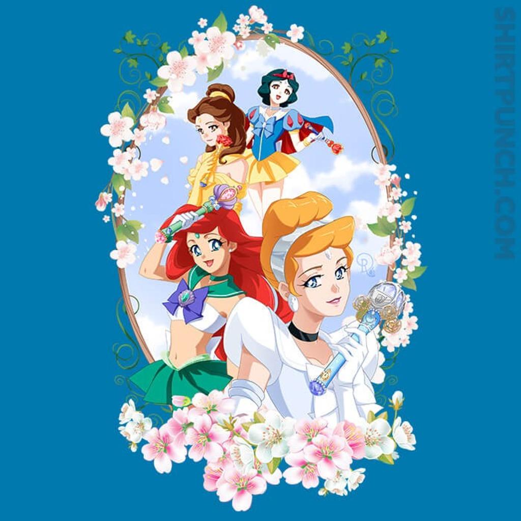 ShirtPunch: Sailor Princesses