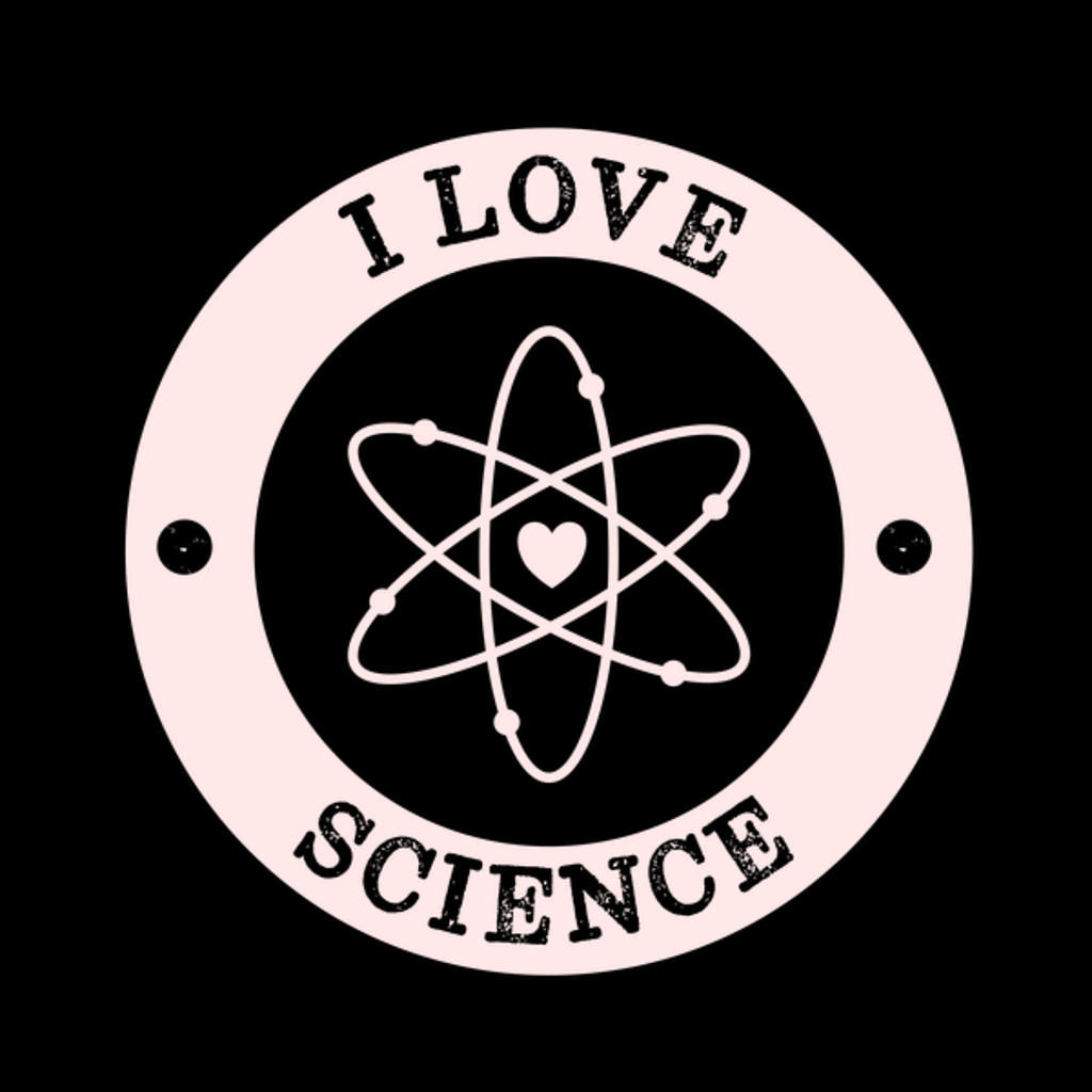 NeatoShop: Bold I Love Science Retro Vintage
