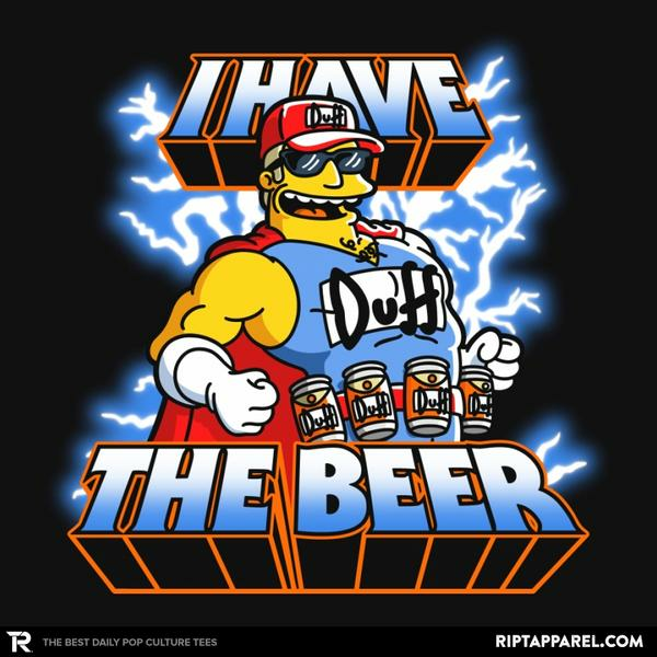 Ript: I have the Beer