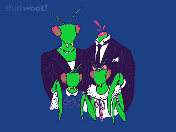 Woot!: Mantis Family Portrait