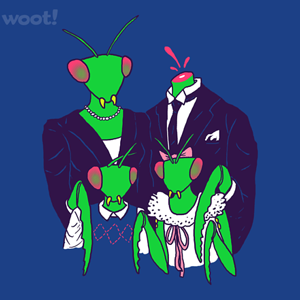 Woot!: Mantis Family Portrait