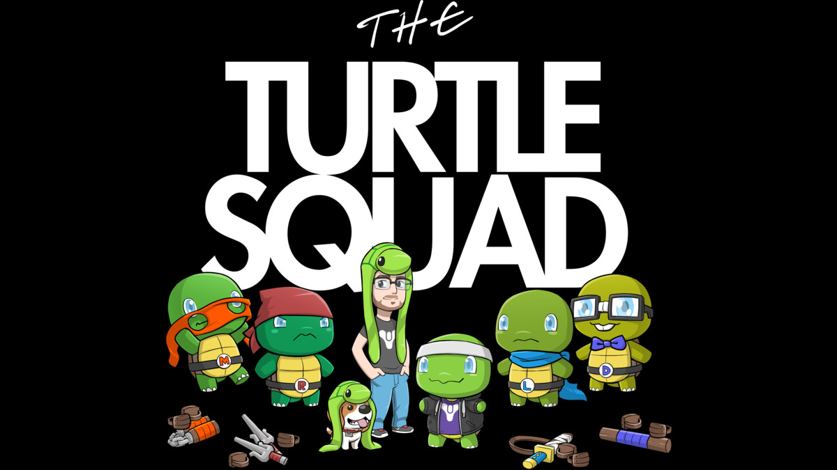 Design by Humans: The Turtle Squad