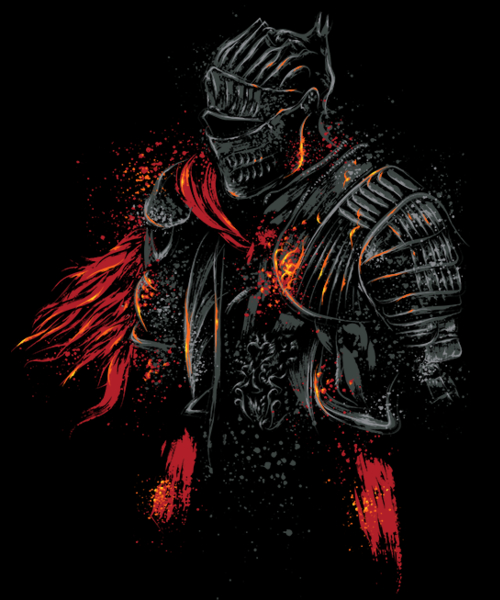 Qwertee: Red Knight