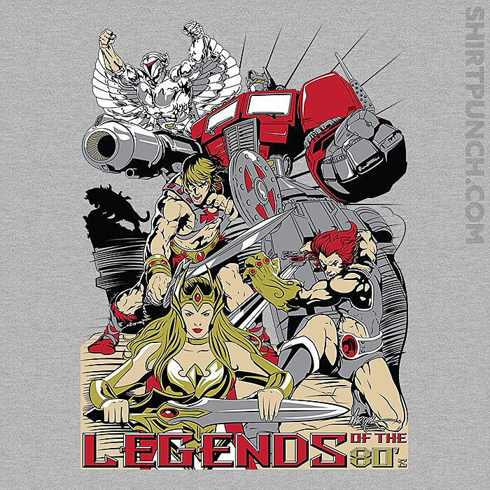 ShirtPunch: Legends Of The 80's