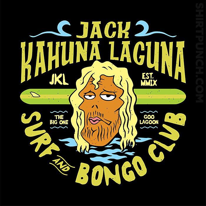 ShirtPunch: Jack Kahuna Laguna