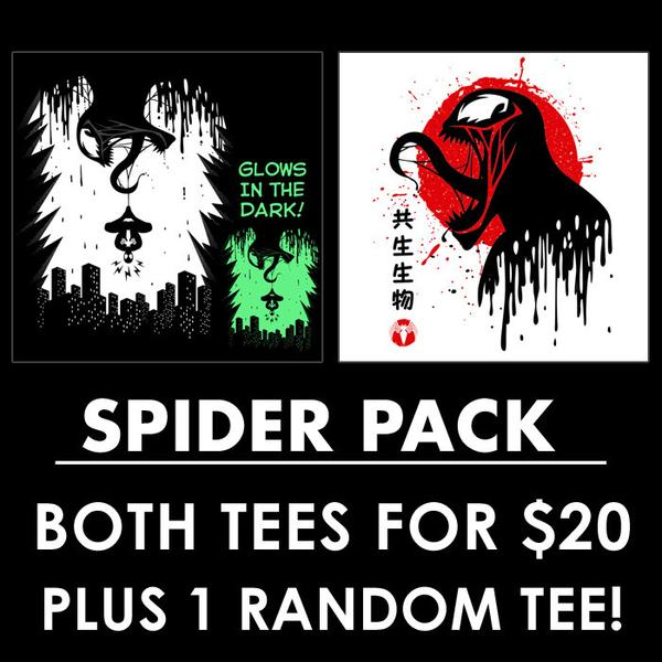 Tee11: Spider Pack