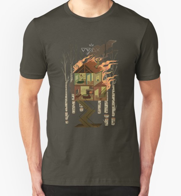 RedBubble: House on Fire