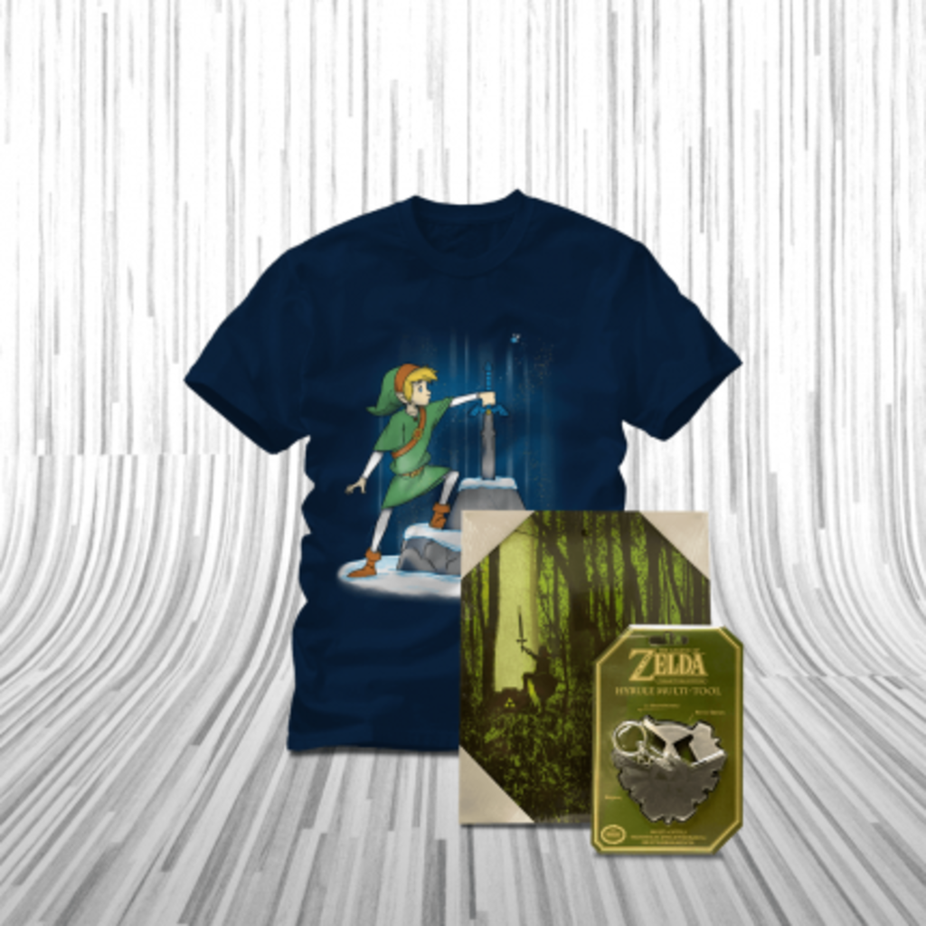 ShirtPunch: The Hero of Hyrule Bundle