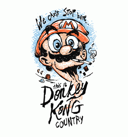 BustedTees: Donkey Kong Country